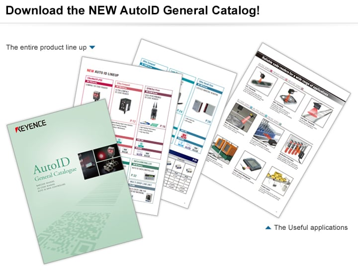 Automatic Recognition System AutoID General Catalogue (English)