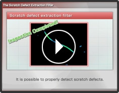 Scratch Defect Extraction