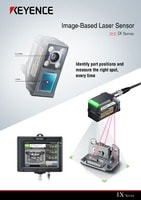 IX Series Image-Based Laser Sensor Catalogue