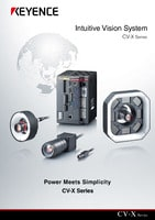 CV-X Series Intuitive Vision System Catalogue