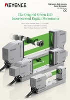 LS-7000 Series High-speed, High-accuracy Digital Micrometer Catalogue