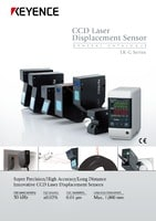 LK-G3000 Series High-speed, High-accuracy CCD Laser Displacement Sensor Catalogue