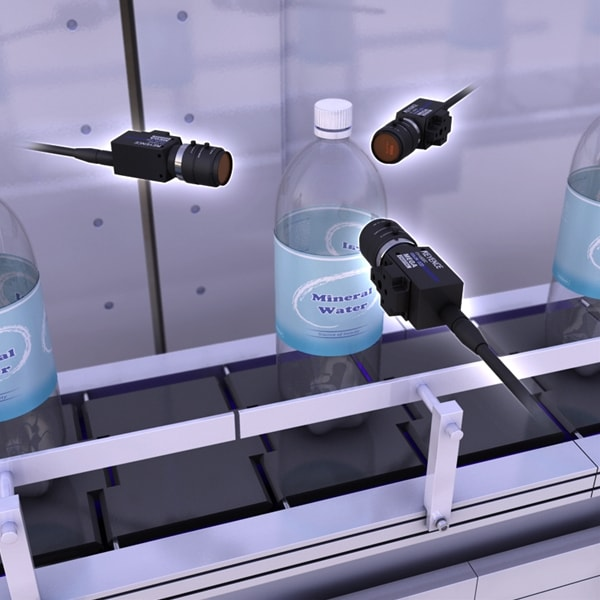 Defect detection on PET bottles